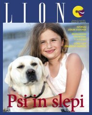 Lion, Å¡tevilka 22, junij 2012 - Lions Distrikt 129