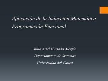 Programación Funcional - Universidad del Cauca