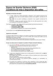 Condition de mise à disposition EQS.V2doc - Ville de Genève