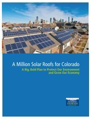 Download A Million Solar Roofs for Colorado WEB.pdf - Frontier Group