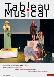 Themenschwerpunkt: Oper
