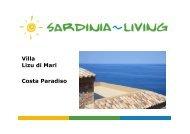Villa Lizu di Mari Costa Paradiso - Sardinia Living