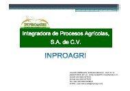 PRESENTACION INPROAGRI OCT 2012 - Hecho en Mexico B2B