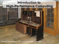 Introduction to High-Performance Computing