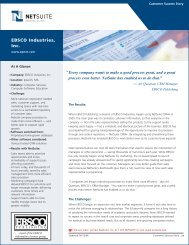 EBSCO Industries, Inc. - NetSuite