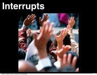 Interrupts - University of Pennsylvania