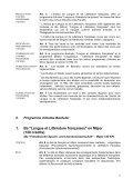 """Plan d'études de """"Langue et Littérature françaises"""" - Institut de ... - Page 2"""