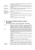 """Plan d'études de """"Langue et Littérature françaises"""" - Institut de ... - Page 5"""