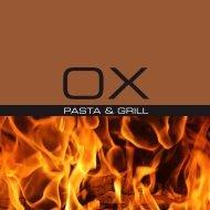 Aktuelle Barkarte - Steyr Restaurant - OX Pasta & Grill