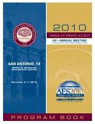 Program Book - American Epilepsy Society