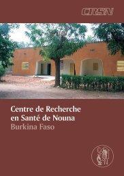 Centre de Recherche en Santé de Nouna Burkina Faso