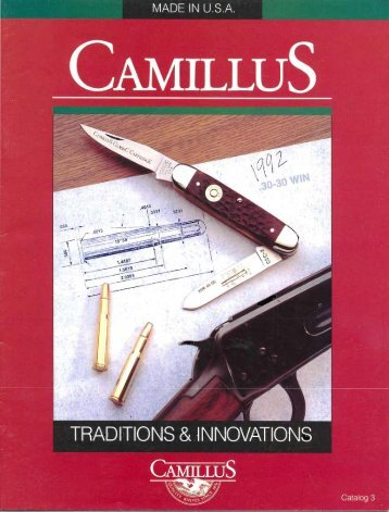 1992-Catalog - Collectors of Camillus