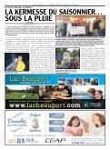 on brave la pluie à la kermesse du saisonnier - L'Écho du Lac - Page 2