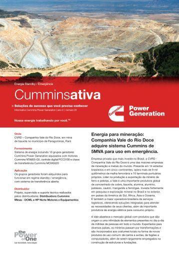 Cia. Vale do Rio Doce - Cummins Power Generation