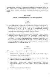 Predlog Pravilnika o opremi in vmesnikih za zakonito prestrezanje ...