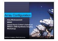 Array Configuration