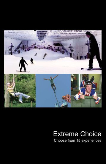 Extreme Choice - Virgin Experience Days