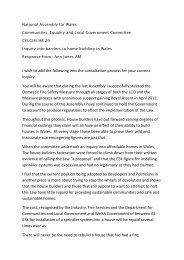 Consultation Response - HB 29 Ann Jones AM PDF 100 KB
