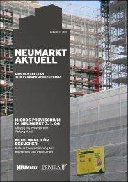 Newsletter 13|2013 - neumarkt-sg.ch