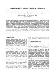 tecnologías wiki y conocimiento abierto en la ... - StatMediaWiki