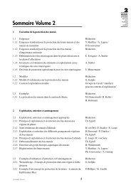 Table des matières II - KBNL