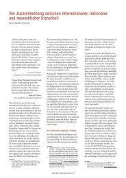 Social Watch Deutschland Report 2004, Beitrag Ziad Abdel Samad