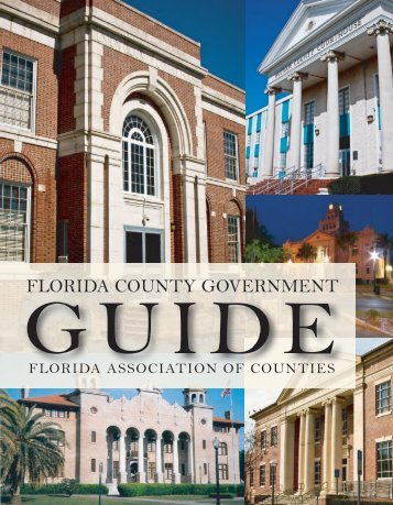 florida county government guide - Florida Association of Counties