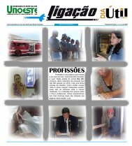 Jornal Ligação Dia Útil - Unoeste