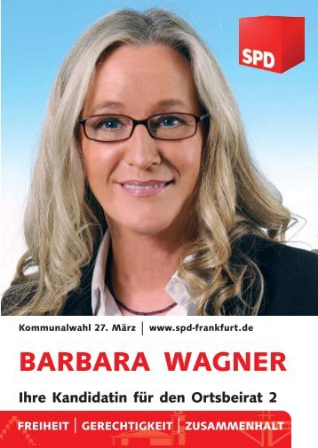 BARBARA WAGNER - SPD Frankfurt am Main