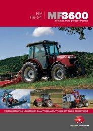HP 68-91 MF3600 - Farming