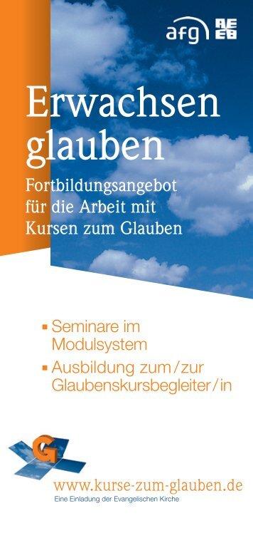 Fortbildungsangebot - Kurse-zum-glauben.org