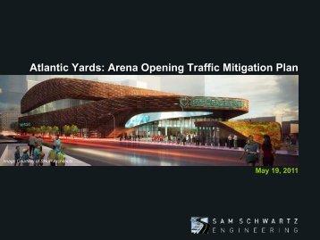 Atlantic Yards - Arena Opening Traffic Mitigation Plan (pdf