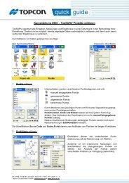 Kurzanleitung 0906 – TopSURV Projekte editieren