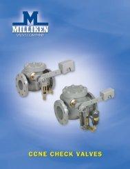Milliken CCNE Check Valves - PEC-KC.com