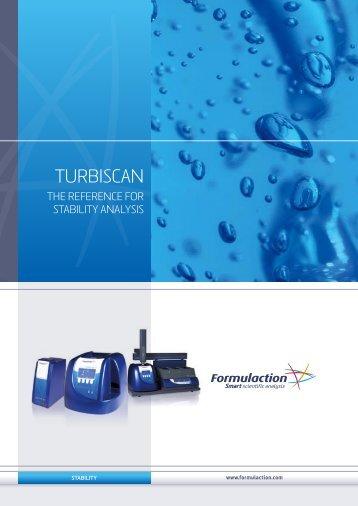 Doc Turbiscan pdf - Formulaction