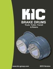 HDD - KIC Drum Catalog 2010 - CARQUEST Auto Parts