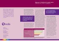 Migranten in Nederland en goede doelen Onderzoek naar ... - CBF