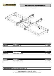 Kit chassis Gold - agrisem