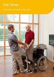 Etac Turner Brochure - Nordic Care Services