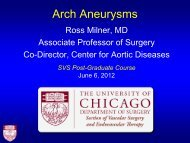 Aortic Arch Aneurysms – What Is Currently Available? - VascularWeb