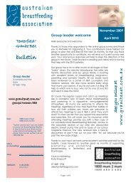 ABA Tenterfield Granite Belt Bulletin Nov 09 to April 10 ... - GraniteNet