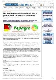 Dia de Campo em Viamão falará sobre produção de carne ovina no ...