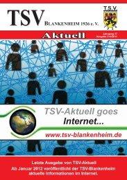 TSV-Aktuell – Ausgabe 3+4/2011 - Bürger Blog Blankenheim