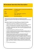 YM63 - Human Resources Assistant Internship ... - YoungMinds - Page 7