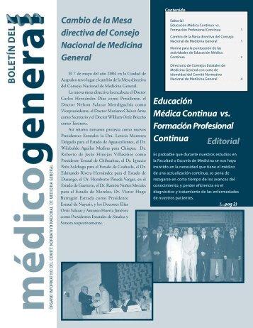 Año 1 - Comité Normativo Nacional de Medicina General