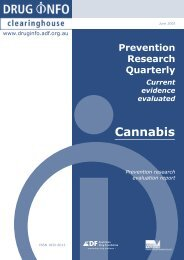 Full report [PDF: 341KB](new window) - DrugInfo - Australian Drug ...