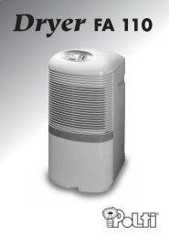 Dryer FA 110 - Polti