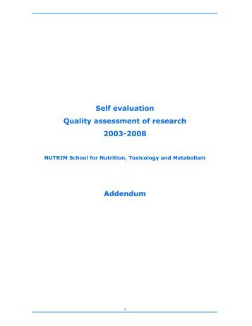research paper self evaluation