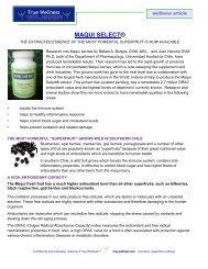 MAQUI SELECT® - True-Wellness