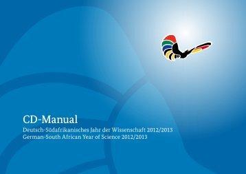 CD-Manual - Deutsch-Südafrikanisches Jahr der Wissenschaft